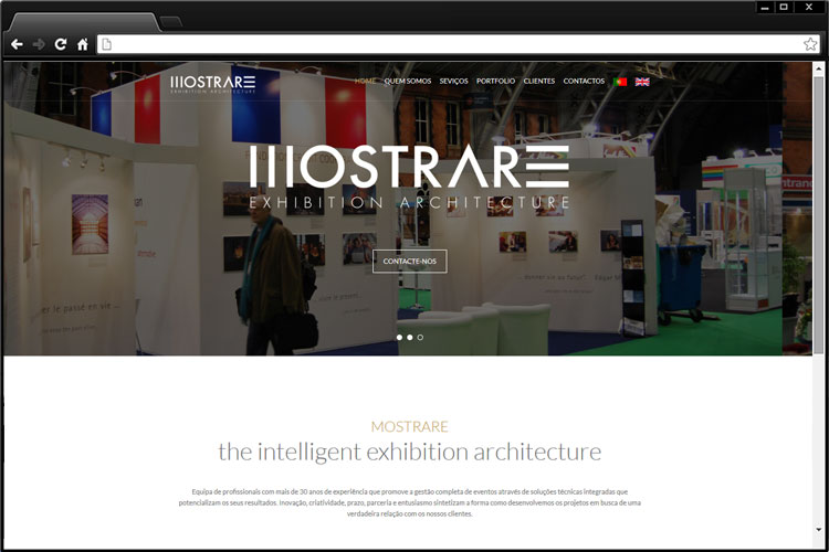 Mostrare - Exhibition Architecture